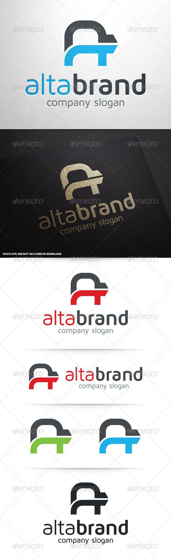 GraphicRiver Alta Brand Letter A Logo 8640688