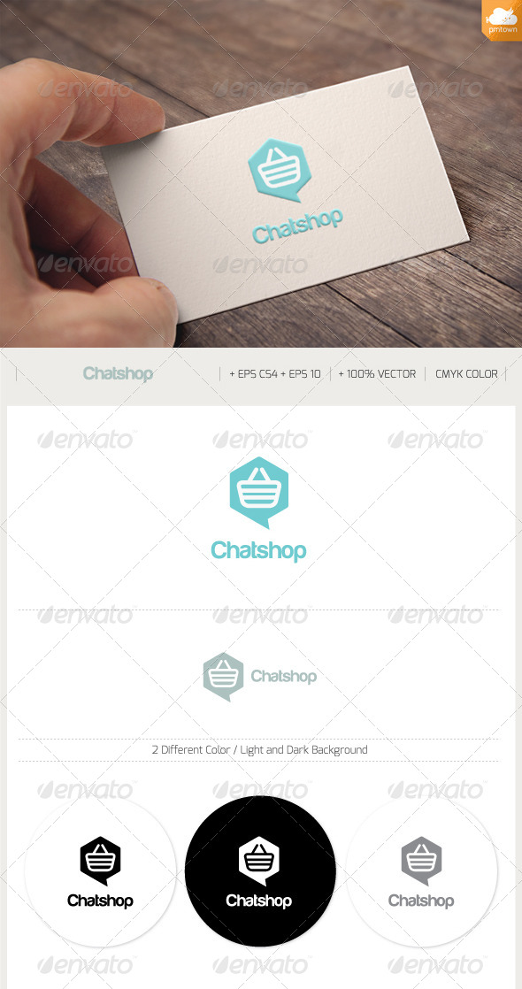 GraphicRiver Chat Shop 8640703