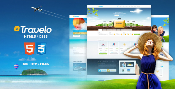 Travelo - Responsive Travel Booking Site Template - Travel Retail