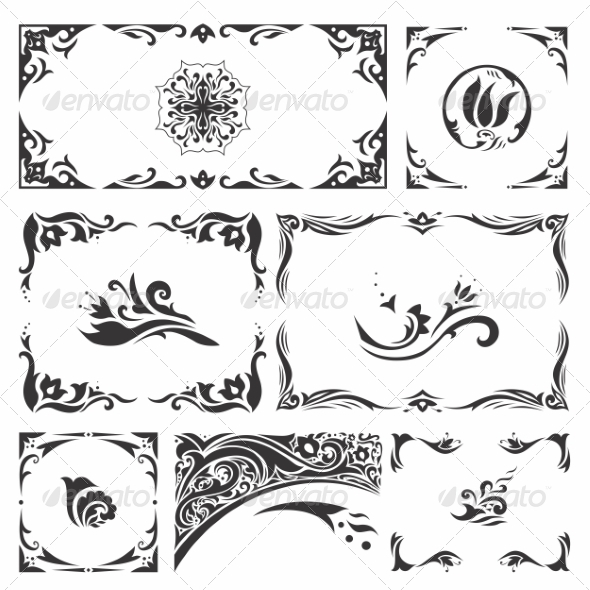 GraphicRiver Arabic Ornaments 8640938