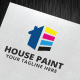 House Paint Logo Template - GraphicRiver Item for Sale