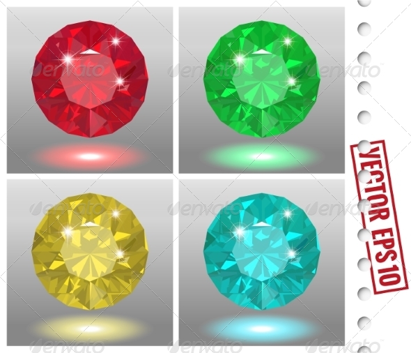 GraphicRiver Jewels Set 8641249
