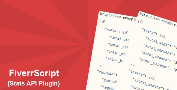 FiverrScript Stats API