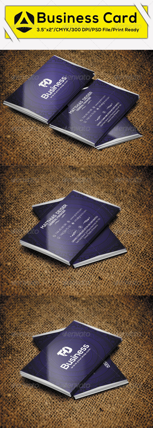 GraphicRiver Creative Business Card 3 8641360