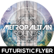 Metropolitan Sounds Flyer Design - GraphicRiver Item for Sale
