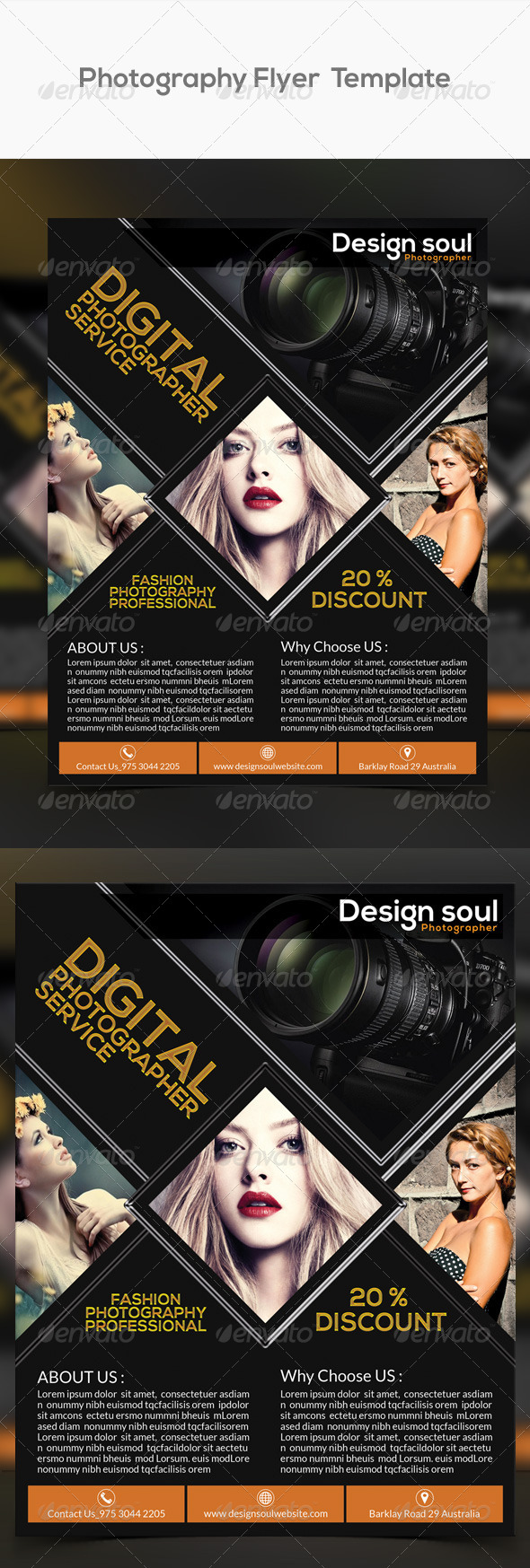 GraphicRiver Photography Flyers 8641571