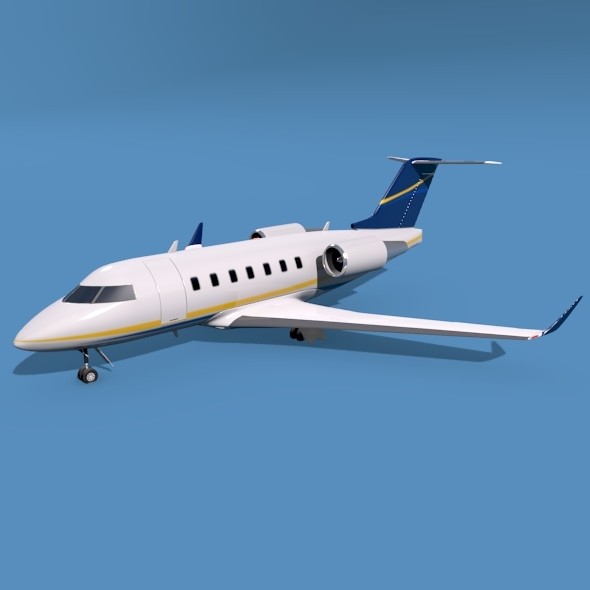 Bombardier Challenger 600 private jet