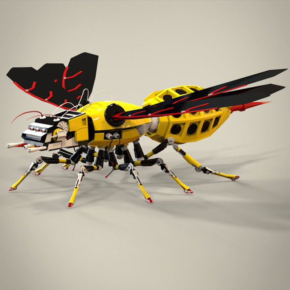 3DOcean robotic bee 8641605