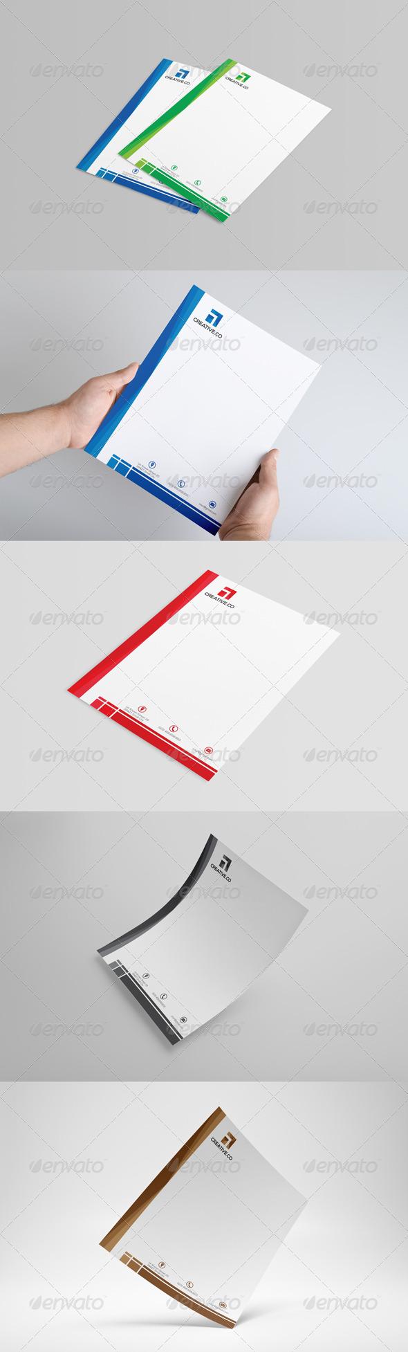 GraphicRiver Letterhead 8635763