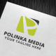 Polinka Media Logo Template - GraphicRiver Item for Sale