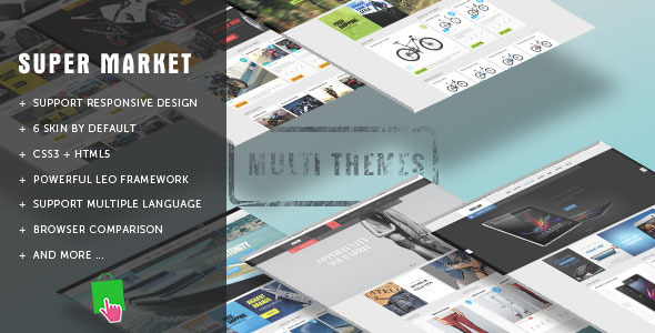 ThemeForest Leo Super Market 8641970