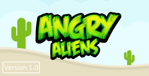 CodeCanyon Angry Aliens Construct 2 8641975
