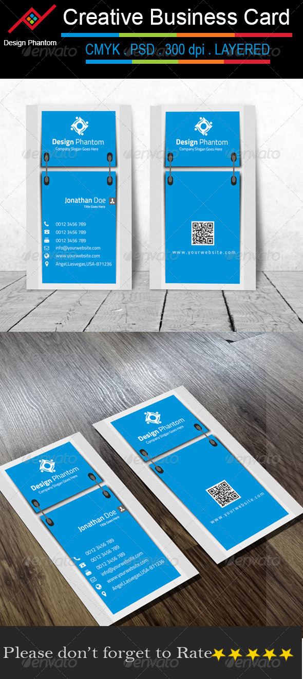 GraphicRiver Creative Business Card 8642093
