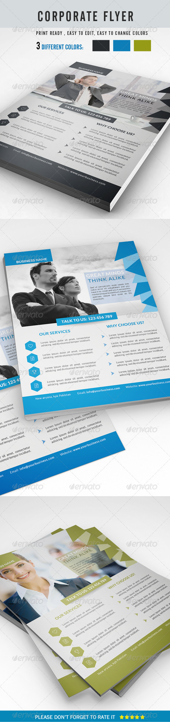 GraphicRiver Corporate Business Flyer 8642108
