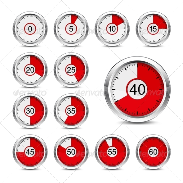 GraphicRiver Icons timer 8642166