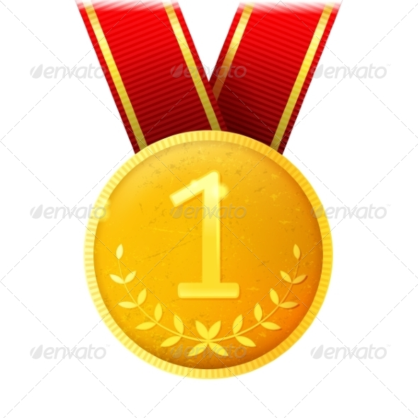 GraphicRiver Golden Medal 8642413