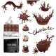 Chocolate Splashes Set  - GraphicRiver Item for Sale
