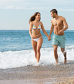 Newly married couple at the beach - PhotoDune Item for Sale