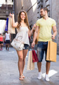 Man and woman with shopping bags - PhotoDune Item for Sale