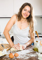 woman preparing dough - PhotoDune Item for Sale
