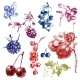 Hand Dawn Berries - GraphicRiver Item for Sale