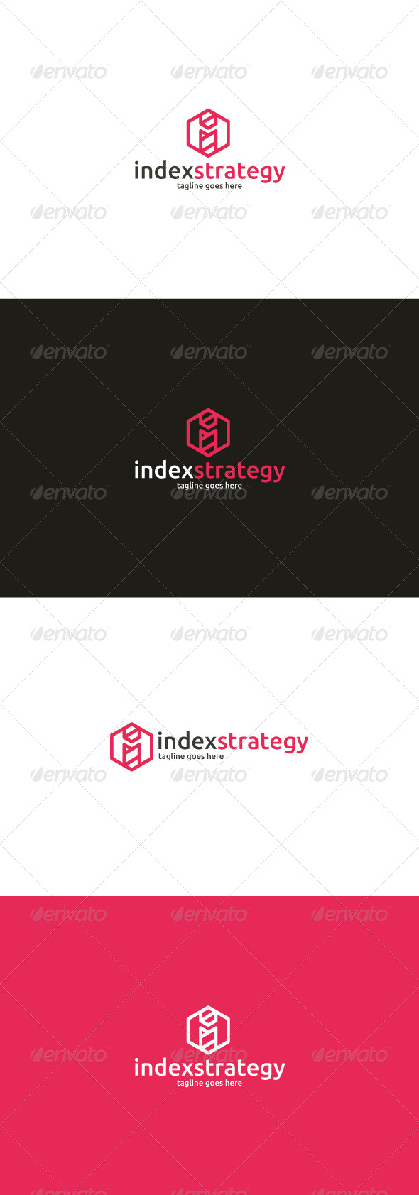 GraphicRiver Index Strategy Logo Letter I 8642578