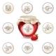 Jam Jar and Labels - GraphicRiver Item for Sale