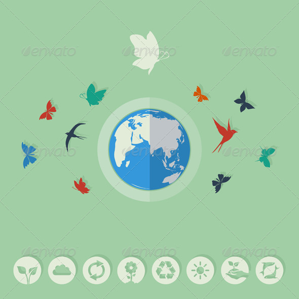 GraphicRiver Nature World 8642625