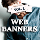 Web Banners E-commerce Vol. 1 - GraphicRiver Item for Sale
