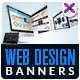 Design Company Banner Ads - GraphicRiver Item for Sale