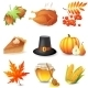 Thanksgiving Icons - GraphicRiver Item for Sale
