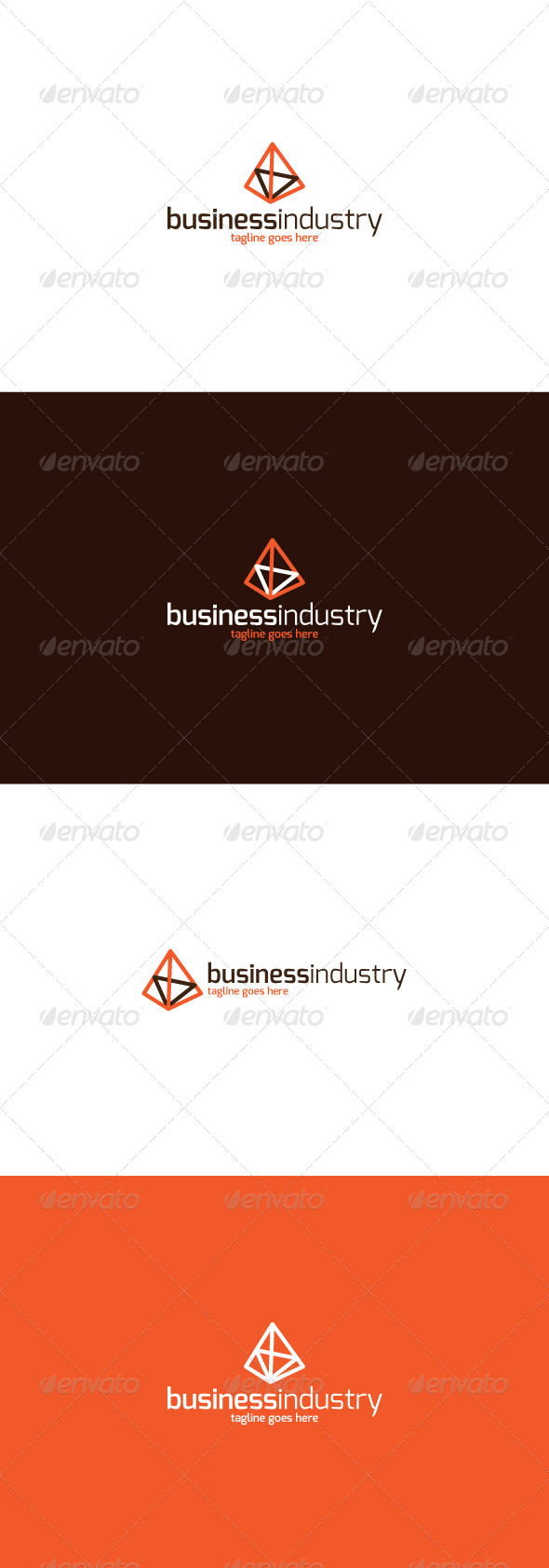 GraphicRiver Business Industry Logo 8642741