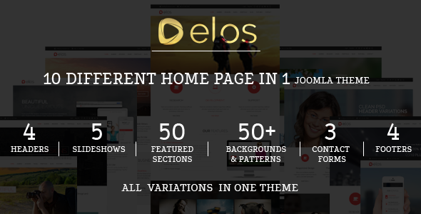 ThemeForest Elos Responsive MultiPurpose Joomla Theme 8643058