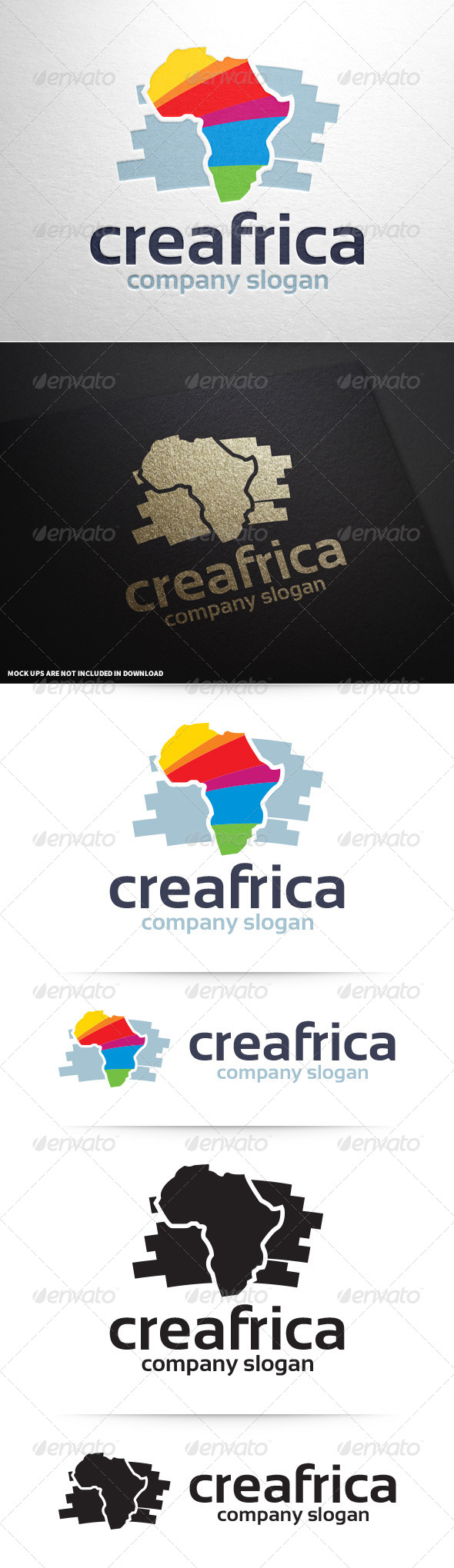 GraphicRiver Creative Africa Logo Template 8643140