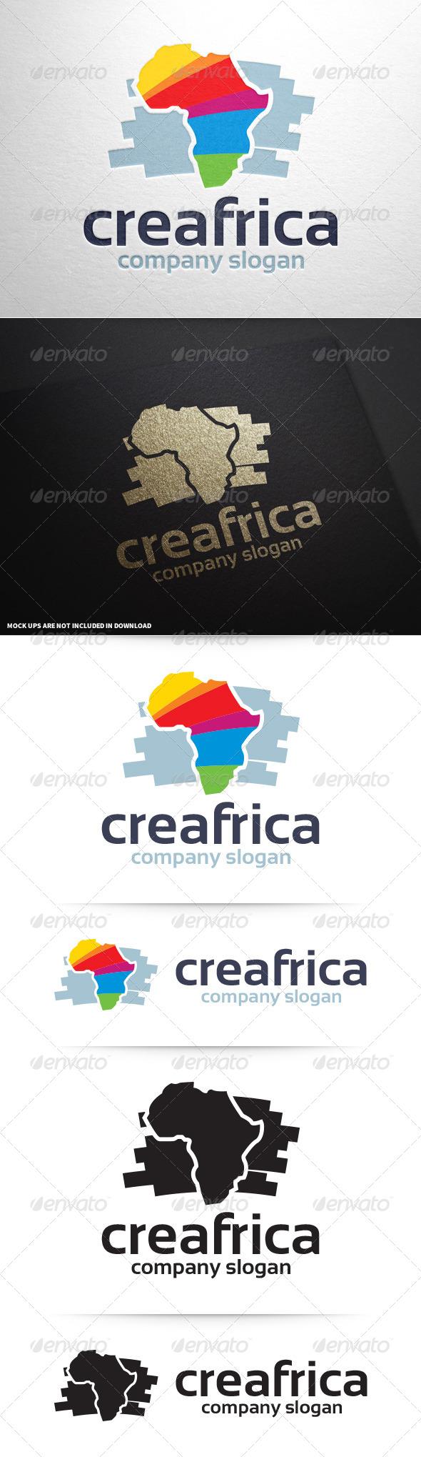 GraphicRiver Creative Africa Logo Template 8643140