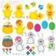 Set of Easter Elements - GraphicRiver Item for Sale