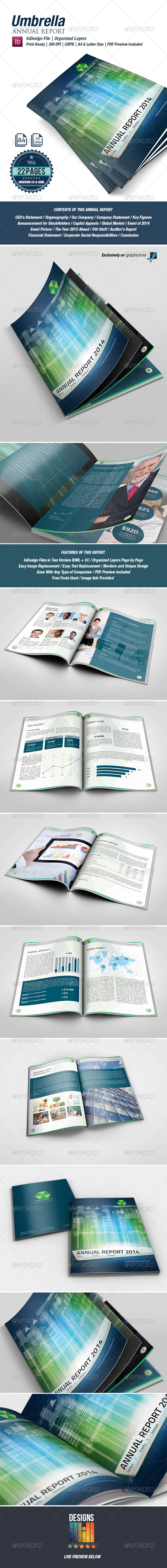 GraphicRiver Umbrella Annual Report 8643226