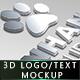 Ultimate 3D Logo Mockups - GraphicRiver Item for Sale