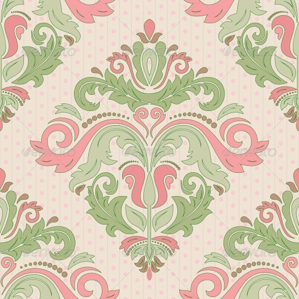 GraphicRiver Damask Seamless Abstract Background 8611912