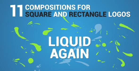 Liquid Logo Reveal Again