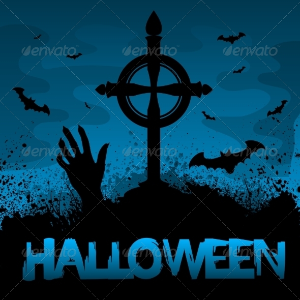 GraphicRiver Halloween Background 8643499