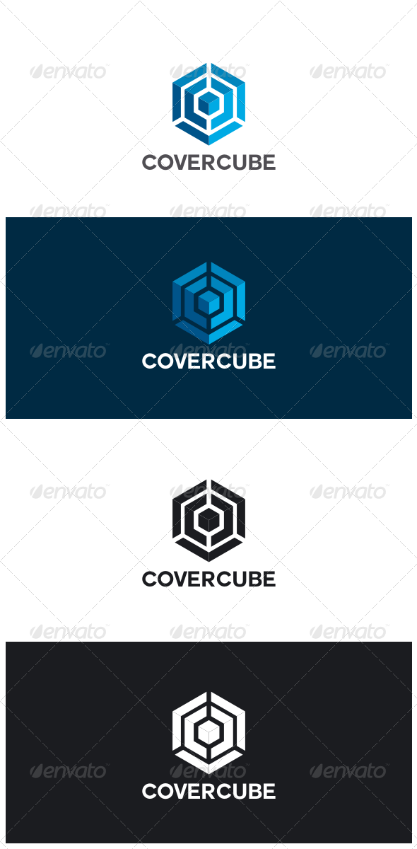GraphicRiver Cover Cube Logo 8643503