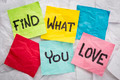 find what you love advice - PhotoDune Item for Sale