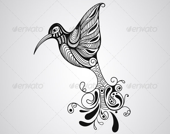 GraphicRiver Hummingbird 8643631