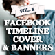 Facebook Timeline Covers and Banners - GraphicRiver Item for Sale