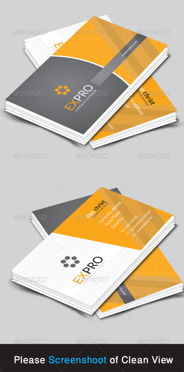 GraphicRiver Cxpro Corporate Business Card 8644540