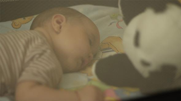 Peacefully Sleeping Baby