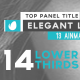Clean Glitch Lower Thirds - VideoHive Item for Sale