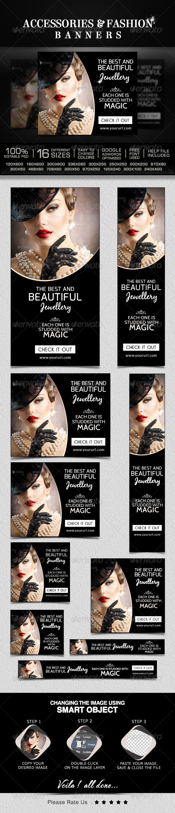 GraphicRiver Fashion Accessories Banners 8644840