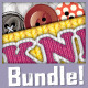 Needle Craft - Style & Brush Bundle - GraphicRiver Item for Sale